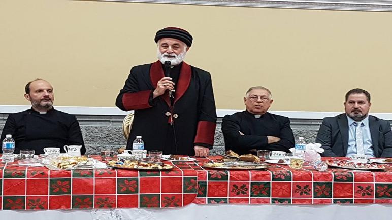 بمناسبة أعياد الميلاد قاطع كنداللحركة الديمقراطية الآشورية يهنئ أسقف كندا لكنيسة المشرق الآشورية